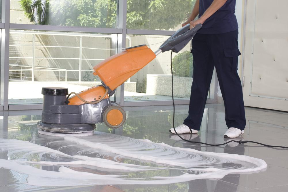 Linoleum vloer schoonmaken fons buis