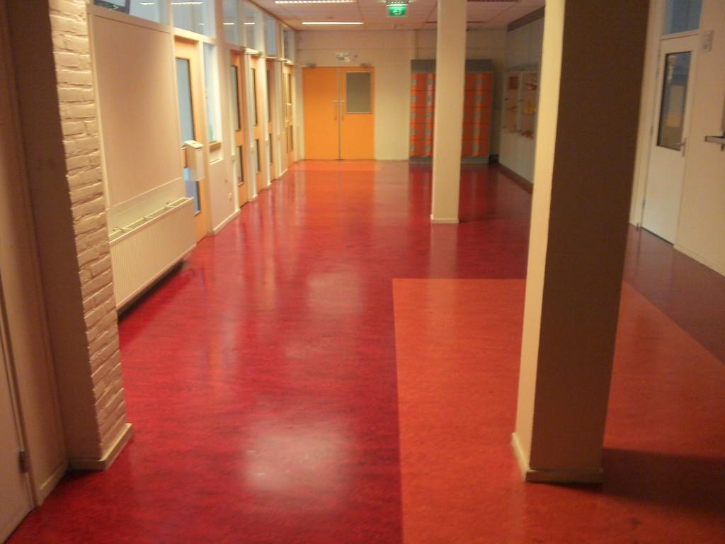 Linoleum vloer onderhoud fons buis